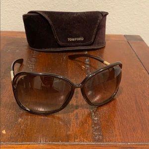 Tom Ford Raquel brown sunglasses